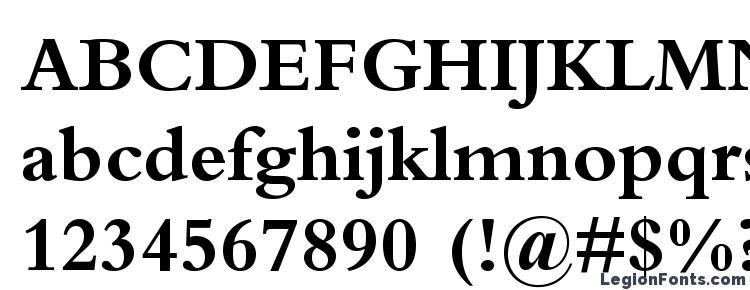 глифы шрифта BemboStd Bold, символы шрифта BemboStd Bold, символьная карта шрифта BemboStd Bold, предварительный просмотр шрифта BemboStd Bold, алфавит шрифта BemboStd Bold, шрифт BemboStd Bold