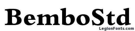 BemboStd ExtraBold Font