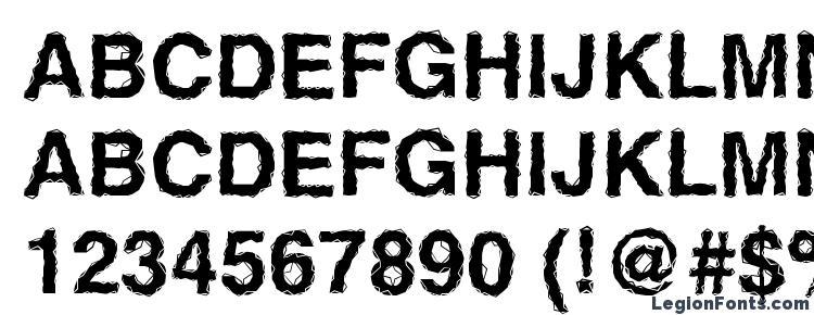 glyphs Ben Hard Life Bold font, сharacters Ben Hard Life Bold font, symbols Ben Hard Life Bold font, character map Ben Hard Life Bold font, preview Ben Hard Life Bold font, abc Ben Hard Life Bold font, Ben Hard Life Bold font