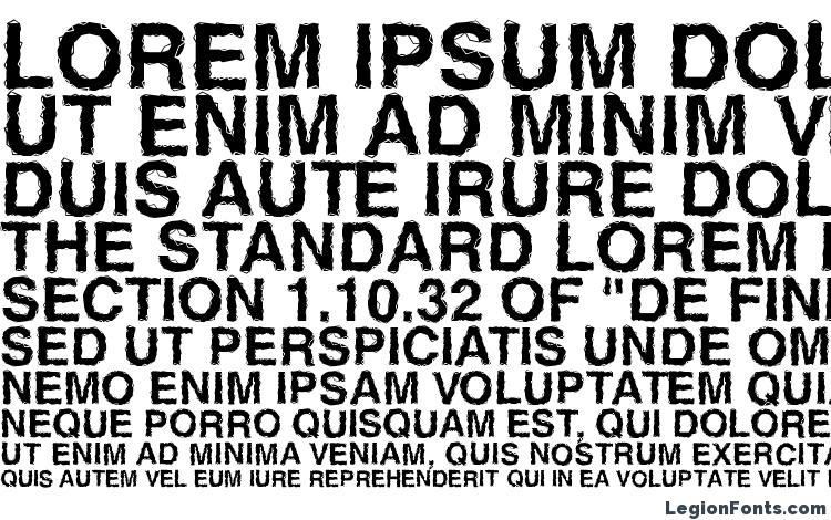 specimens Ben Hard Life Bold font, sample Ben Hard Life Bold font, an example of writing Ben Hard Life Bold font, review Ben Hard Life Bold font, preview Ben Hard Life Bold font, Ben Hard Life Bold font