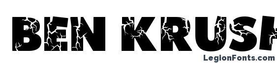 Ben Krush Font