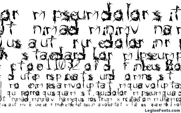 specimens Beneath The Remains font, sample Beneath The Remains font, an example of writing Beneath The Remains font, review Beneath The Remains font, preview Beneath The Remains font, Beneath The Remains font