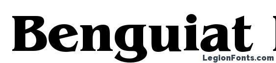 Benguiat Bold BT Font