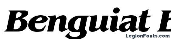 Benguiat BoldItalic Font