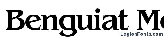 Benguiat Medium Font