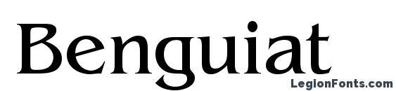 Шрифт Benguiat