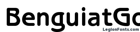 BenguiatGothicStd Bold font, free BenguiatGothicStd Bold font, preview BenguiatGothicStd Bold font
