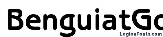 BenguiatGothicStd Bold Font