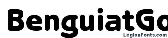 BenguiatGothicStd Heavy Font