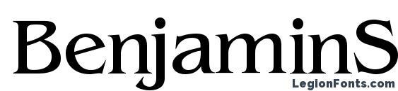 BenjaminSerif Regular Font
