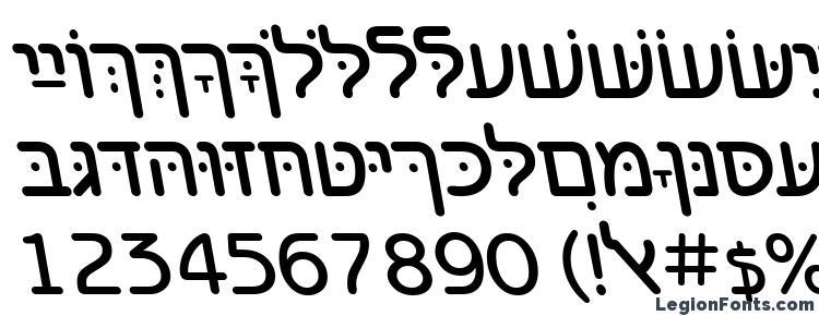 глифы шрифта BenzionHebrewTT Italic, символы шрифта BenzionHebrewTT Italic, символьная карта шрифта BenzionHebrewTT Italic, предварительный просмотр шрифта BenzionHebrewTT Italic, алфавит шрифта BenzionHebrewTT Italic, шрифт BenzionHebrewTT Italic