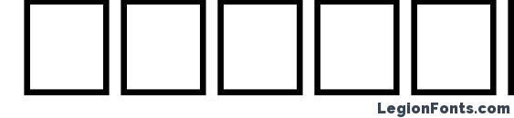 BenzionTT Font