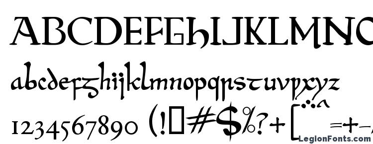 глифы шрифта Beowulf modern, символы шрифта Beowulf modern, символьная карта шрифта Beowulf modern, предварительный просмотр шрифта Beowulf modern, алфавит шрифта Beowulf modern, шрифт Beowulf modern
