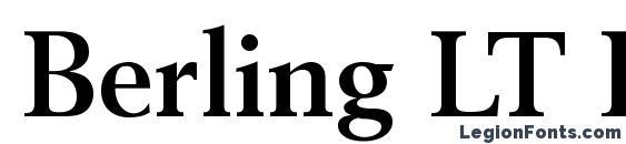 Шрифт Berling LT Bold