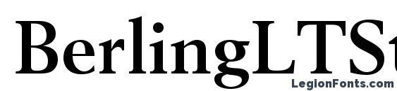 Шрифт BerlingLTStd Bold