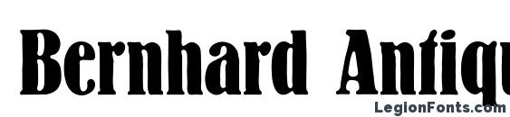 Bernhard Antique Font