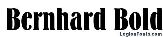 Bernhard Bold Condensed BT Font