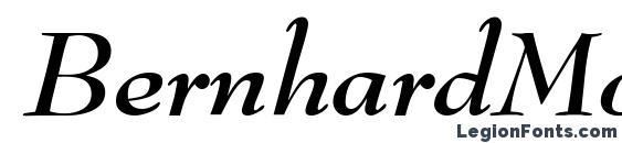 BernhardModern BoldItalic font, free BernhardModern BoldItalic font, preview BernhardModern BoldItalic font