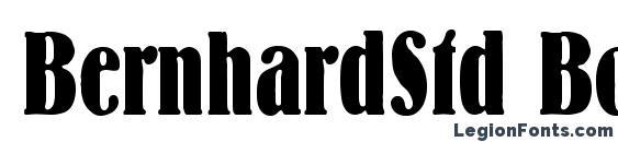 BernhardStd BoldCondensed font, free BernhardStd BoldCondensed font, preview BernhardStd BoldCondensed font