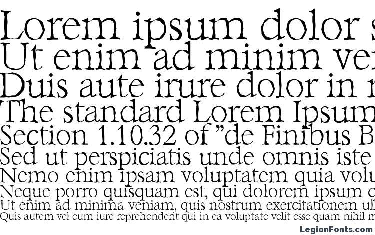 specimens BernsteinAntique Xlight Regular font, sample BernsteinAntique Xlight Regular font, an example of writing BernsteinAntique Xlight Regular font, review BernsteinAntique Xlight Regular font, preview BernsteinAntique Xlight Regular font, BernsteinAntique Xlight Regular font