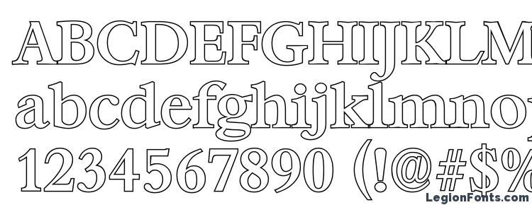 глифы шрифта BernsteinOutline Medium Regular, символы шрифта BernsteinOutline Medium Regular, символьная карта шрифта BernsteinOutline Medium Regular, предварительный просмотр шрифта BernsteinOutline Medium Regular, алфавит шрифта BernsteinOutline Medium Regular, шрифт BernsteinOutline Medium Regular