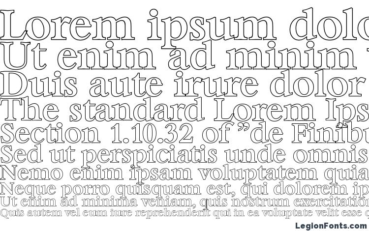 specimens BernsteinOutline Medium Regular font, sample BernsteinOutline Medium Regular font, an example of writing BernsteinOutline Medium Regular font, review BernsteinOutline Medium Regular font, preview BernsteinOutline Medium Regular font, BernsteinOutline Medium Regular font