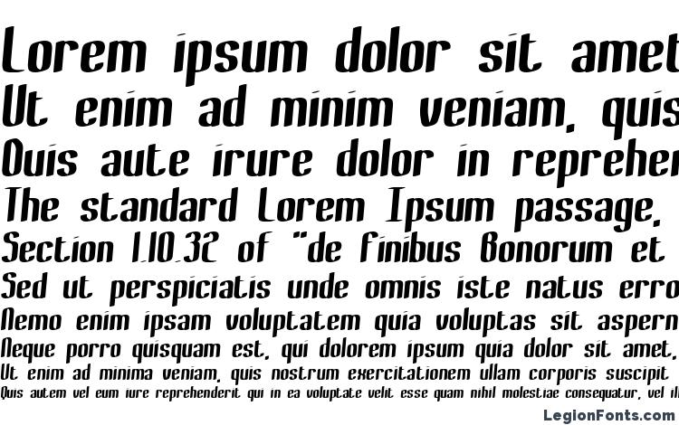 specimens Bewilder Thick BRK font, sample Bewilder Thick BRK font, an example of writing Bewilder Thick BRK font, review Bewilder Thick BRK font, preview Bewilder Thick BRK font, Bewilder Thick BRK font