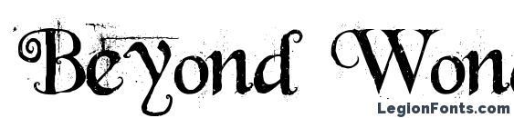 Шрифт Beyond Wonderland