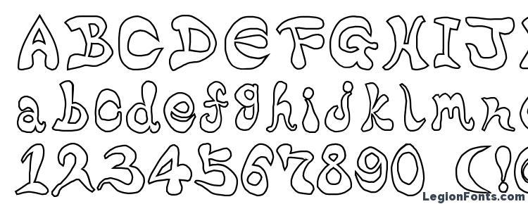 глифы шрифта Bharatic font(w), символы шрифта Bharatic font(w), символьная карта шрифта Bharatic font(w), предварительный просмотр шрифта Bharatic font(w), алфавит шрифта Bharatic font(w), шрифт Bharatic font(w)