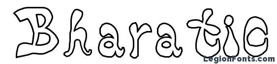 Шрифт Bharatic font(w)