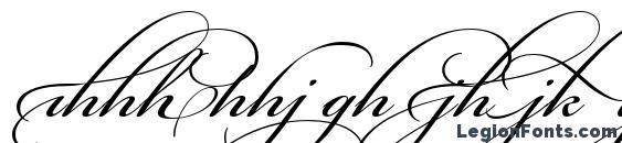 Шрифт Bickham Script Alt Two, Современные шрифты