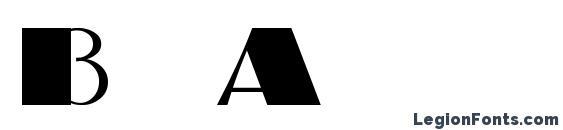 Шрифт BigApple