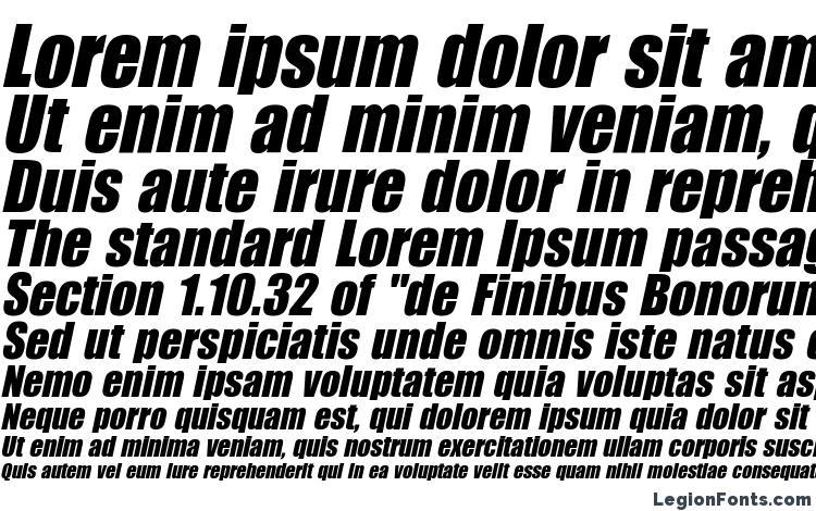 specimens Billboard Italic font, sample Billboard Italic font, an example of writing Billboard Italic font, review Billboard Italic font, preview Billboard Italic font, Billboard Italic font