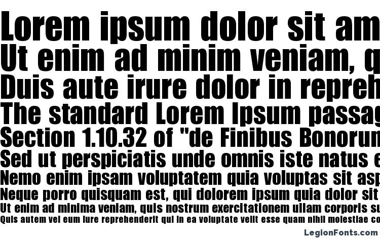 specimens Billboard Regular font, sample Billboard Regular font, an example of writing Billboard Regular font, review Billboard Regular font, preview Billboard Regular font, Billboard Regular font