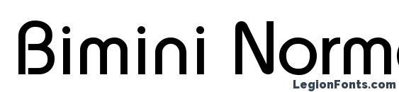 Bimini Normal Font