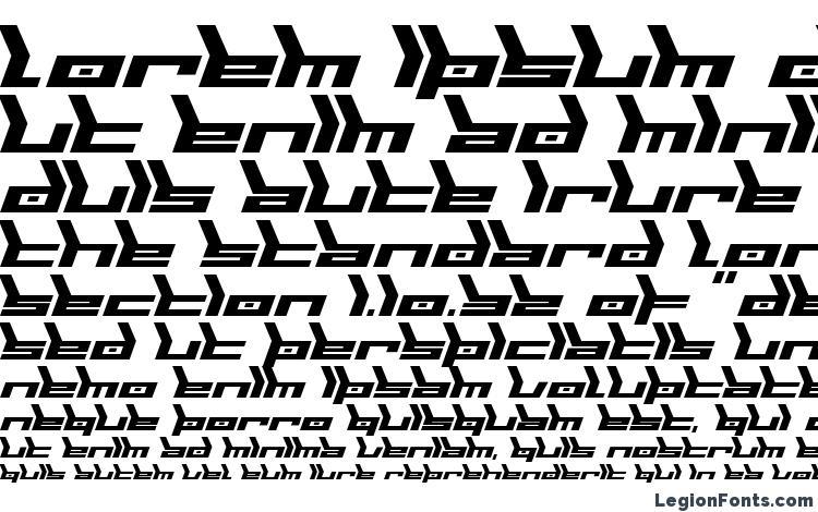specimens Biomechanic font, sample Biomechanic font, an example of writing Biomechanic font, review Biomechanic font, preview Biomechanic font, Biomechanic font