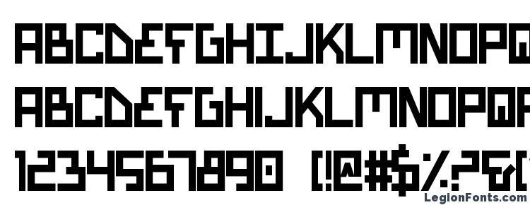 глифы шрифта Bionic Type Bold, символы шрифта Bionic Type Bold, символьная карта шрифта Bionic Type Bold, предварительный просмотр шрифта Bionic Type Bold, алфавит шрифта Bionic Type Bold, шрифт Bionic Type Bold