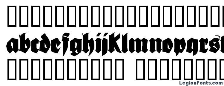 glyphs Bionique font, сharacters Bionique font, symbols Bionique font, character map Bionique font, preview Bionique font, abc Bionique font, Bionique font