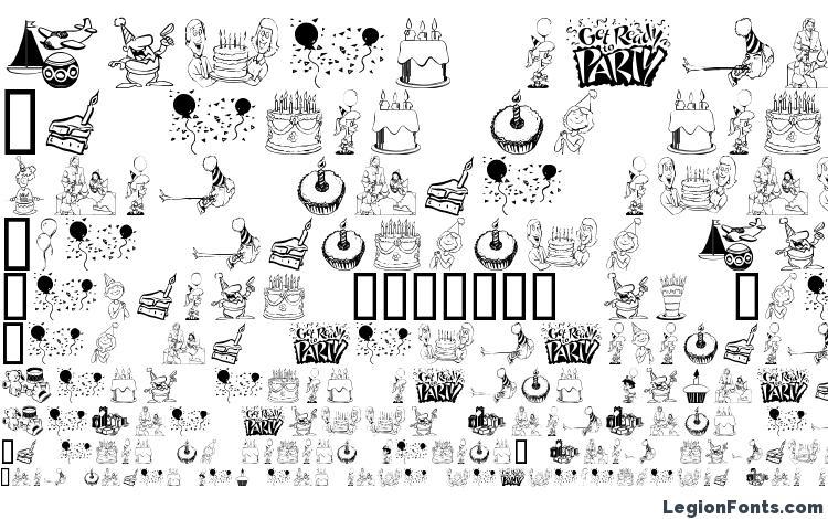 specimens Birthdaze font, sample Birthdaze font, an example of writing Birthdaze font, review Birthdaze font, preview Birthdaze font, Birthdaze font