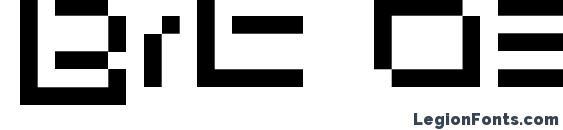 Шрифт Bit 03.urbanfluxer