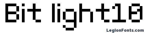 Bit light10 (srb) Font