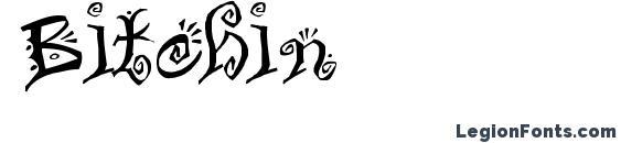 Bitchin font, free Bitchin font, preview Bitchin font
