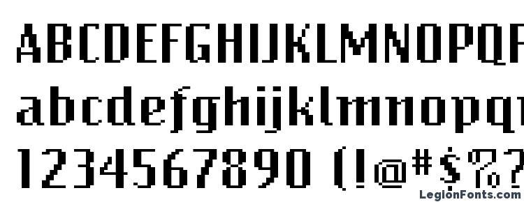 glyphs BitmapWide Regular font, сharacters BitmapWide Regular font, symbols BitmapWide Regular font, character map BitmapWide Regular font, preview BitmapWide Regular font, abc BitmapWide Regular font, BitmapWide Regular font