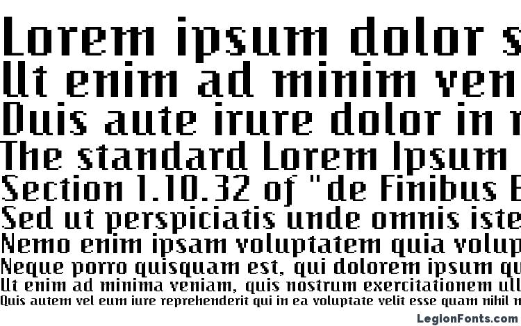 specimens BitmapWide Regular font, sample BitmapWide Regular font, an example of writing BitmapWide Regular font, review BitmapWide Regular font, preview BitmapWide Regular font, BitmapWide Regular font