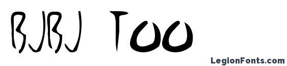 BjBj TOO Font