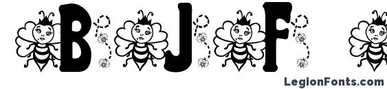 BJF Hunnybee Font