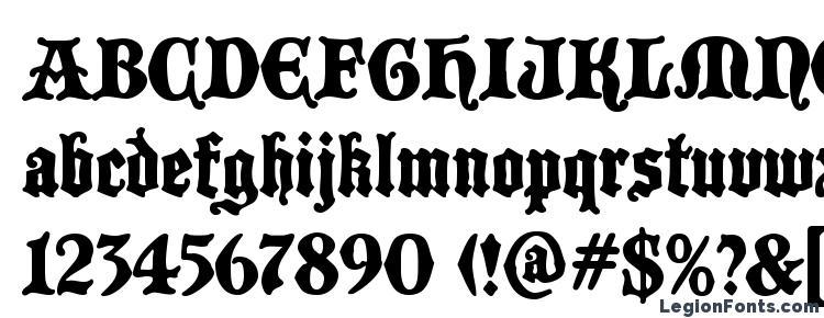 glyphs BlackCastleMF font, сharacters BlackCastleMF font, symbols BlackCastleMF font, character map BlackCastleMF font, preview BlackCastleMF font, abc BlackCastleMF font, BlackCastleMF font