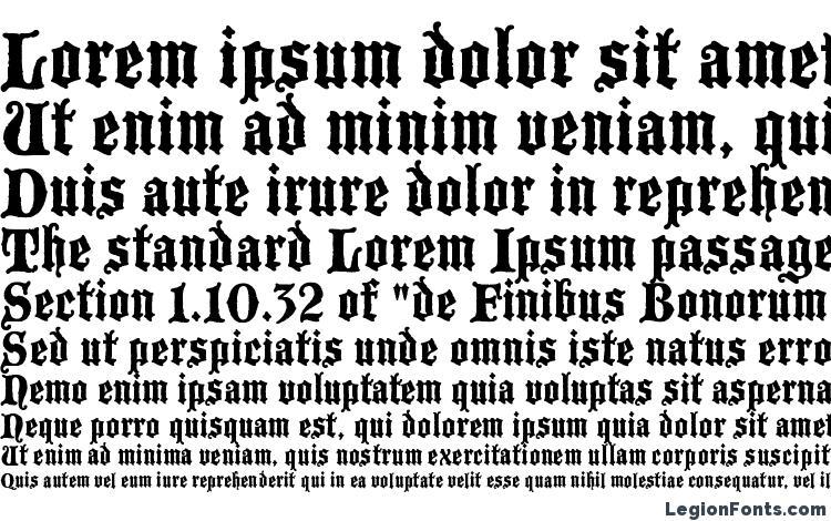 specimens Blackmoor LET Plain.1.0 font, sample Blackmoor LET Plain.1.0 font, an example of writing Blackmoor LET Plain.1.0 font, review Blackmoor LET Plain.1.0 font, preview Blackmoor LET Plain.1.0 font, Blackmoor LET Plain.1.0 font
