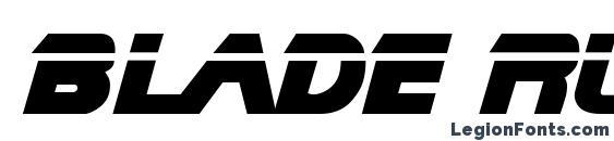 Blade Runner Movie Font font, free Blade Runner Movie Font font, preview Blade Runner Movie Font font
