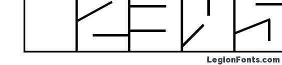 Blaise Font, Number Fonts